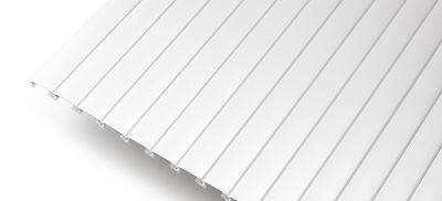 Пластиковый профиль Рехау с алюминиевой накладкой