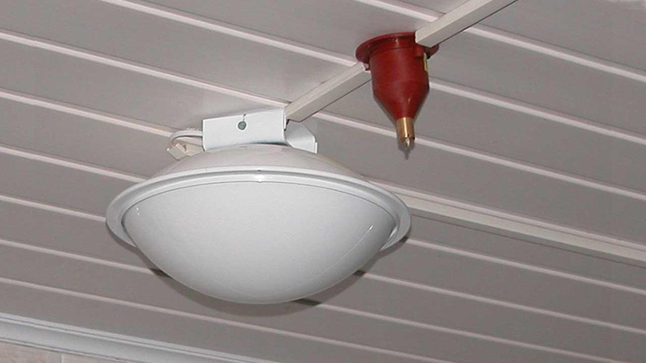 Модуль локального пожаротушения