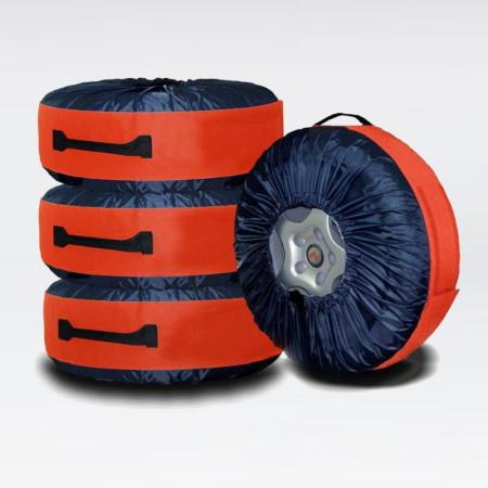 Чехлы для хранения автомобильных колес от 13 до 20, 4 шт