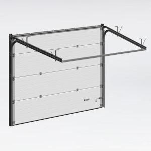 Панельные ворота с ручным управлением для гаража
