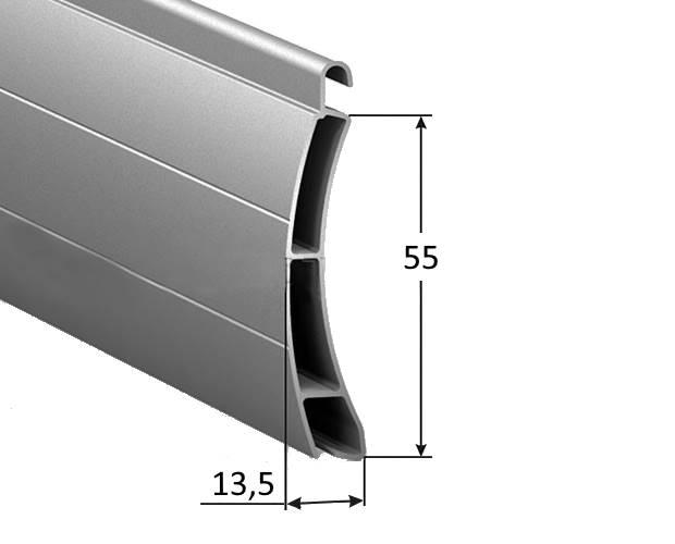 Защитный профиль роллет AER55mS