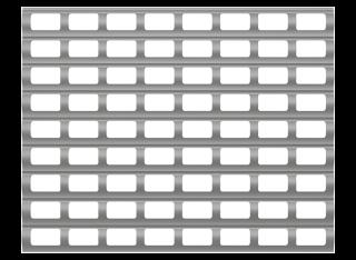 Профиль для роллетных решеток для широких проёмов