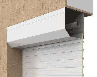 Встроенный монтаж роллет для окон и дверей