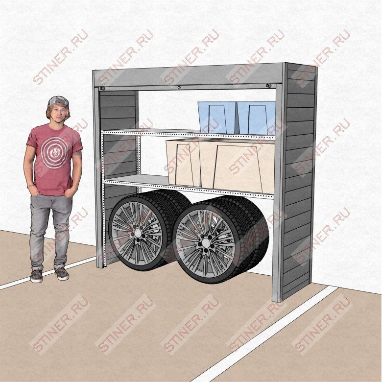 Шкаф для паркинга купить по нормальной цене в Москве шириной 2 метра и высотой 2 метра