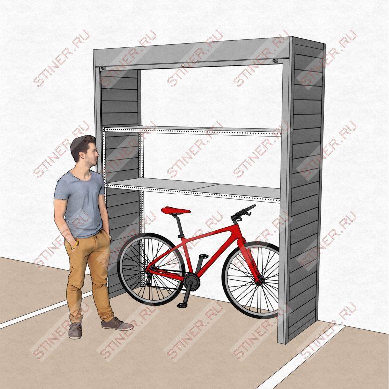 Шкаф для гаража 2000*2500*700