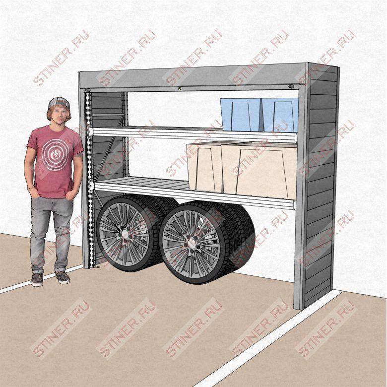 Шкаф в паркинг 2500*2000*700