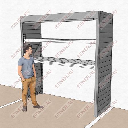 Шкаф в паркинг 2500*2500*900