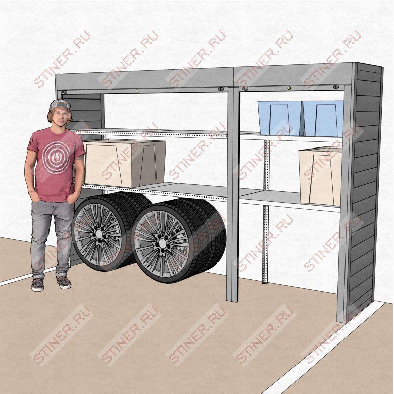 Шкаф на парковку 3100*2000*700