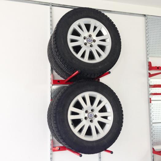 Регулируемый кронштейн-держатель для колёс