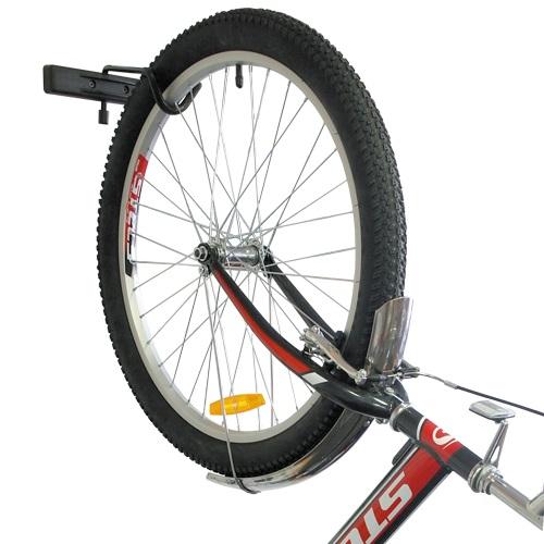 Складной кронштейн для подвеса велосипеда на стене