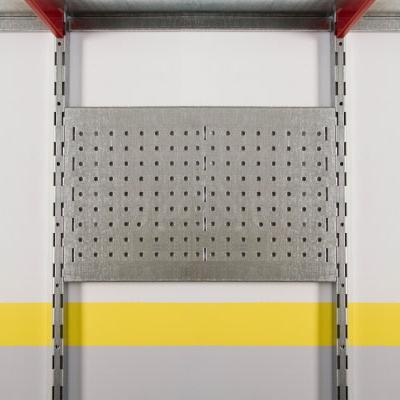ПерфоПанель с зацепами на вертикальные направляющие